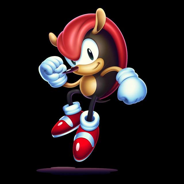 Sonic Mania Plus - Mighty the Armadillo
