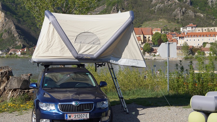 Gentle Tent Шатор на покрив 4