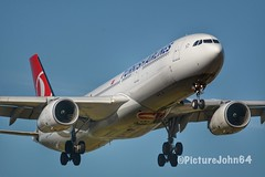 A330: TK1951 Turkish Airlines Airbus 330-300 (TC-LOG) from Istanbul At