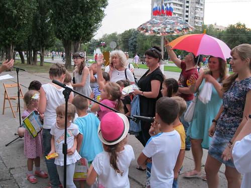 «Приключения читаек в парке Волжский»