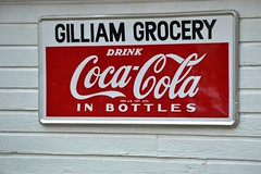 Texas, Edgewood, Gilliam Grocery, Coca Cola