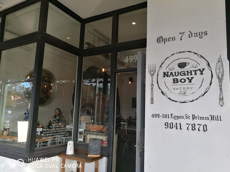 Melbourne Desserts & Cafes - Naughty Boy Cafe 7