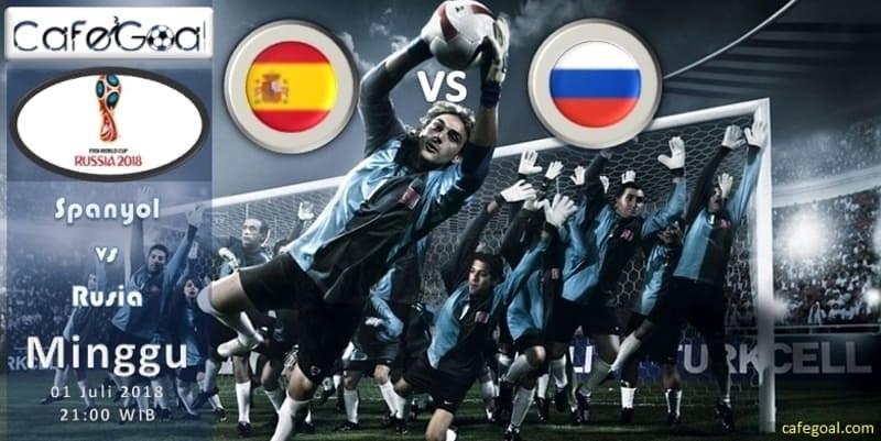Prediksi Bola Spanyol vs Rusia , Hari Minggu, 01 Juli 2018 – Piala Dunia