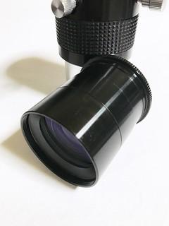 2インチバローのレンズ部分は48mmフィルターネジに取り付け可能