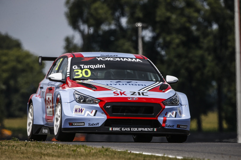 30 TARQUINI Gabriele, (ita), Hyundai i30 N TCR team BRC Racing, action during the 2018 FIA WTCR World Touring Car cup race of Slovakia at Slovakia Ring, from july 13 to 15 - Photo François Flamand / DPPI.