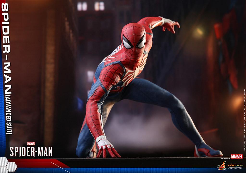 Hot Toys – VGM31–《漫威蜘蛛人》蜘蛛人 (Advanced Suit)  Spider-Man (Advanced Suit) 1/6 比例人偶作品