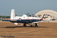 04-3742 USAF | Raytheon T-6A Texan II | Millington Regional Jetport
