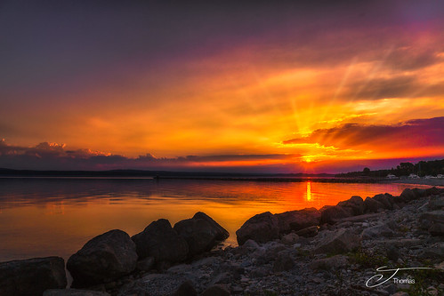 Sunrise Little Traverse Bay-