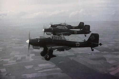 JU-87s  over France  1940.