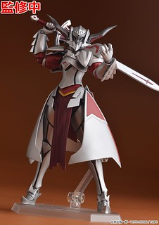 "FIGMA Fate/Apocrypha Saber of ""Red"" Mordred(""赤""のセイバー モードレッド)Colored Prototype Unveiled!"