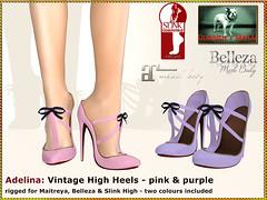Bliensen - Adelina - pink + purple