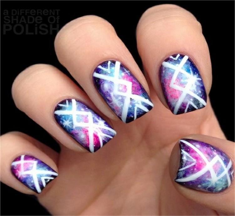 Top Amazing Galaxy Nail Art Designs Trends Ideas Fashonails