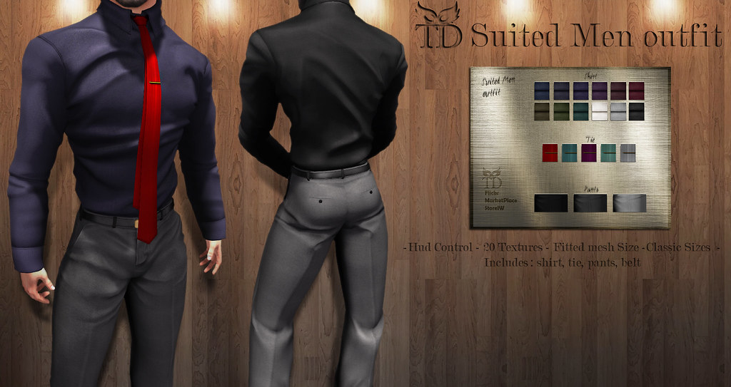 IN PROMO NEW RELEASE^TD^Suited Men Outfit FATPACK