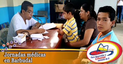 Jornadas médicas en Barbudal