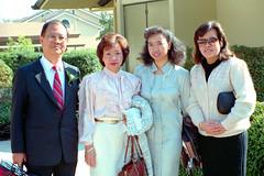 Tito Ed, Mom, Irene, and Marie
