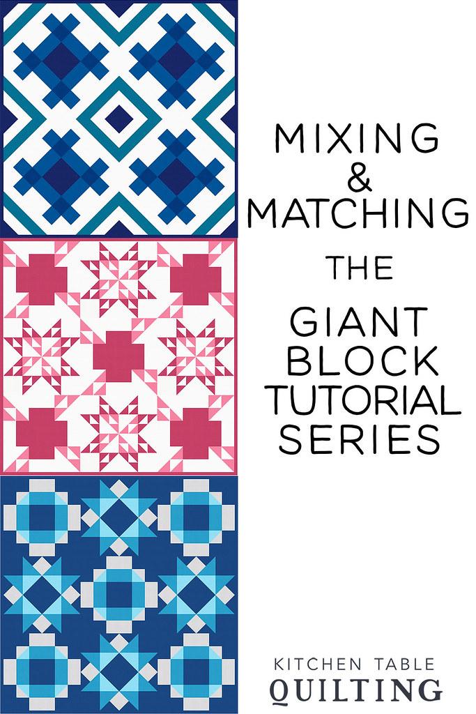 Giant Block Tutorial Series - Combining the Blocks