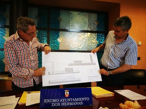 Presentación proyecto del nuevo parque de bomberos Antonio Morán y Agustín Morón