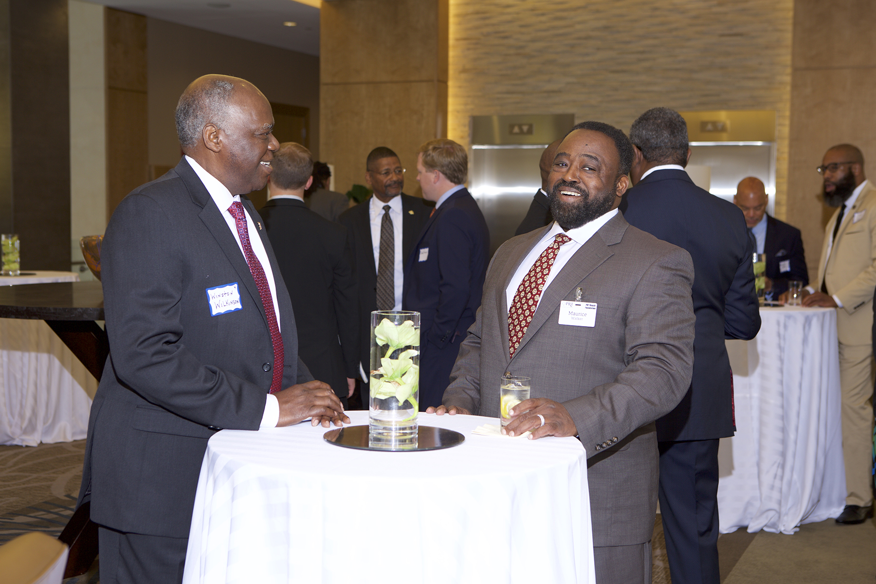 Maurice Walker (PRT Member - Birch Advisors) and Winston Wilkinson
