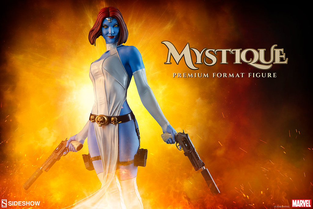 暗殺任務執行中?! Sideshow Collectibles Premium Format Figure 系列 Marvel【魔形女】Mystique 1/4 比例全身雕像作品