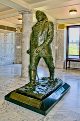 Statue of Brigham Young, Utah State Capitol, 350 State Street, Salt Lake City, Utah, USA / Architect: Richard K.A. Kletting / Built: 1916 / Height: 285 ft (87 m) (dome) / Floor count: 5 / Architectural styles: Corinthian order, Neoclassical architecture