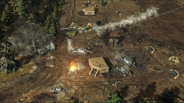 Náhlá střetnutí 4 - Evropské bojové pole - Airstrike
