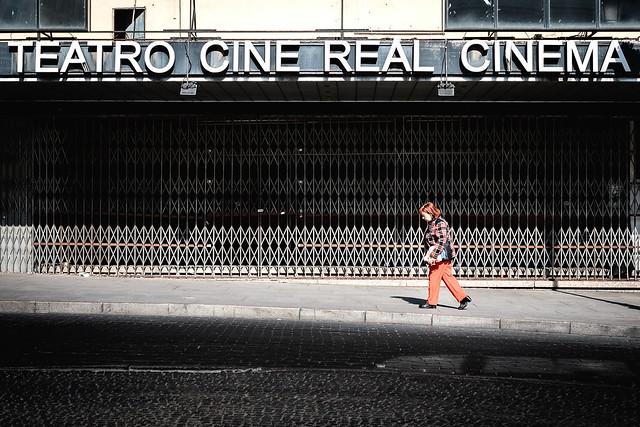 Teatro cine real cinema, Fujifilm X-T1, XF35mmF1.4 R