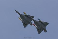 Dassault Mirage 2000D / Armée de l'air | Couteau Delta Tactical Display - Photo of Le Plessis-l'Évêque