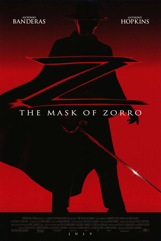 The Mask of Zorro - Poster 2