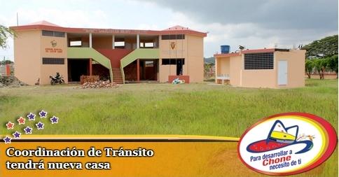 Coordinación de Tránsito tendrá nueva casa