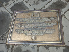 Plaques in Tuscany