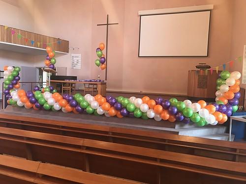 Ballonslinger Diplomauitreiking C.S. De Hoven Johanneskerk Gorinchem