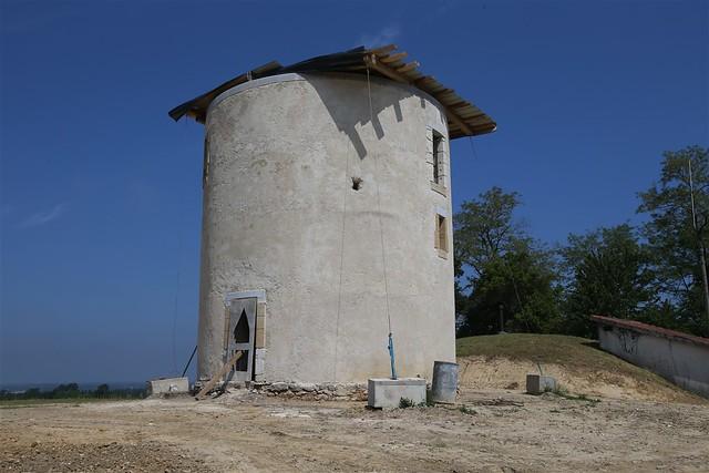 Restauration du  Moulin à vent de Bénesse-lès-Dax