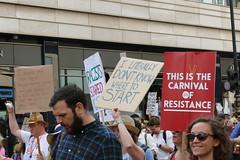 Say No To Trump Demo