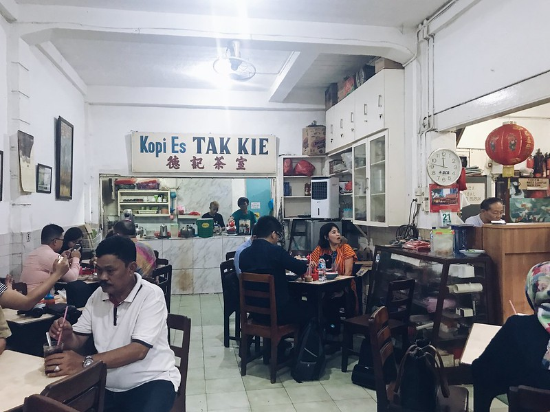 A morning at Kopi Es Tak Kie