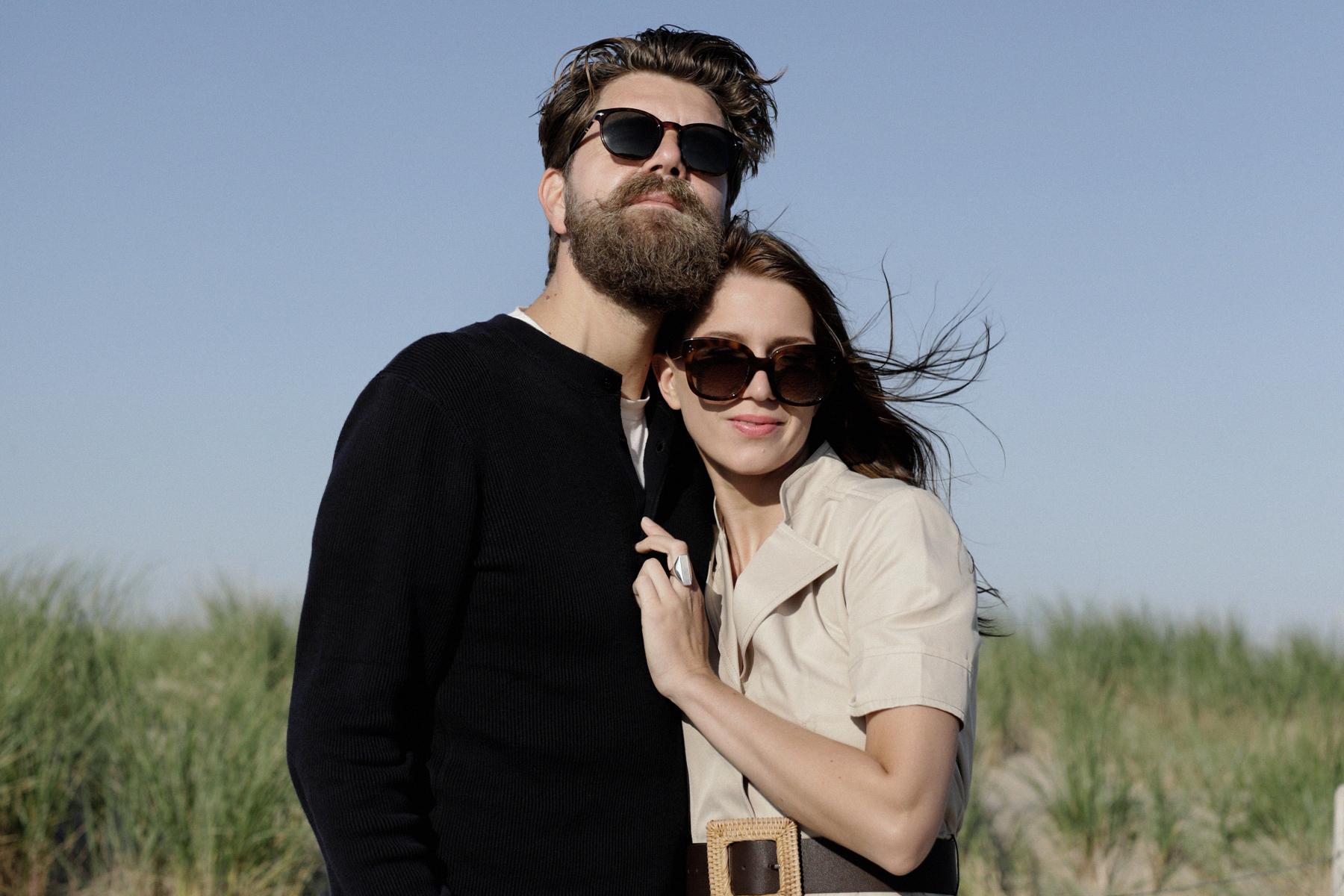 beach holland bloemendaal safari city dress outfit couple coupleblog couplegoals couplestyle romance love vintage style inspo inspiration black and white photography dusseldorf catsanddogsblog ricarda schernus modeblogger styleblog max bechmann fotograf 5