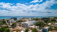 Luftbild von Playa del Carmen in Mexico