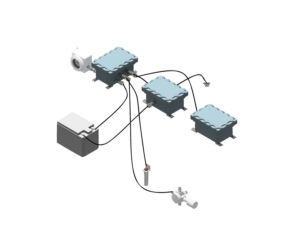 Система аэрогазового контроля метана ААГК-GDS-M-2018-06