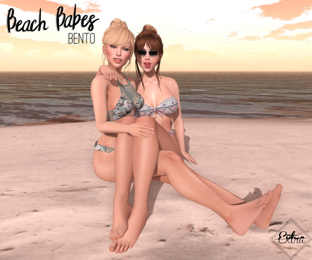 -Extra- Beach Babes - TeleportHub.com Live!