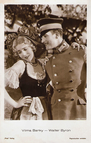 Walter Byron and Vilma Banky in The Awakening (1928)