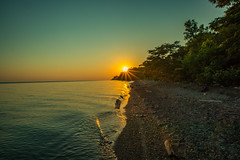 Lake Erie Bluffs Sunrise