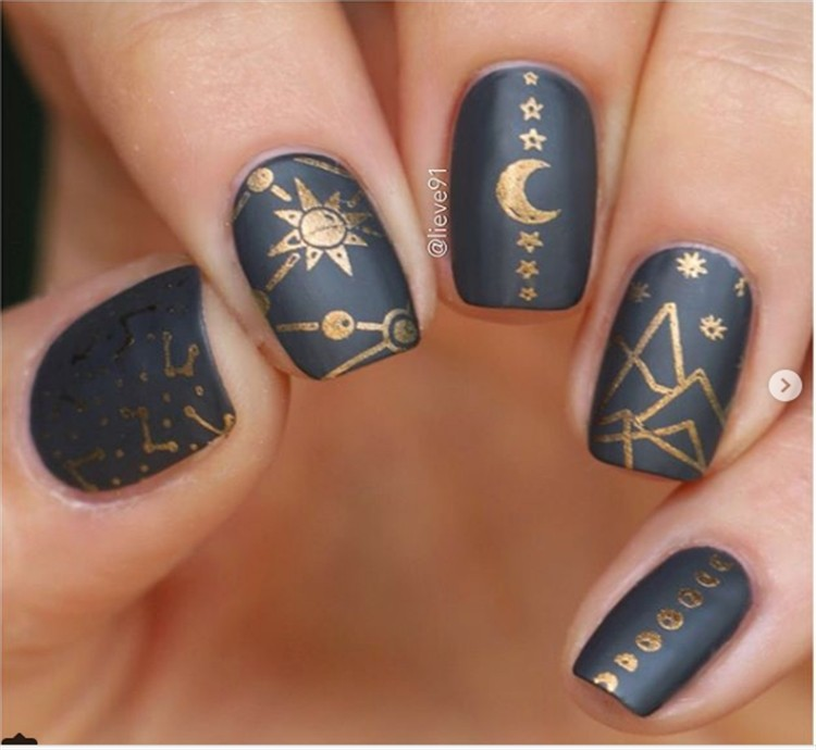Top Amazing Galaxy Nail Art Designs Trends Ideas