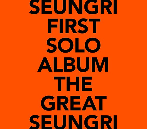 Seungri THE GREAT SEUNGRI Solo Album 2018 (1)