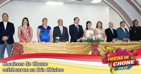 Choferes de Chone celebraron su Día Clásico