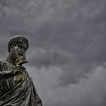 Statue of St. Peter - https://www.flickr.com/people/137591016@N04/