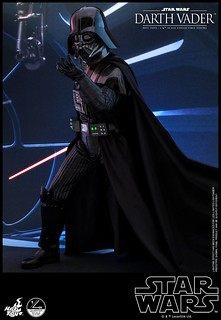 超逼真再現頭盔底下的安納金·天行者面容!! Hot Toys - QS013 -《星際大戰六部曲:絕地大反攻》達斯·維德 Darth Vader 1/4 比例人偶作品
