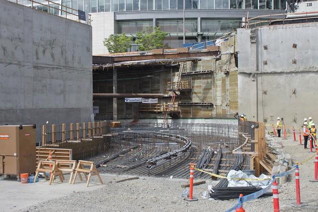 Bellevue Tunnel north portal