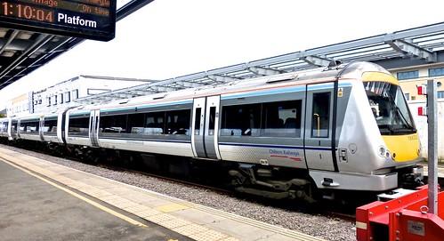 Class 168 'Chiltern Railways' No. 168322 Clubman. Adtranz/ Bombardier built DMU on Dennis Basford's railsroadsrunways.blogspot.co.uk'