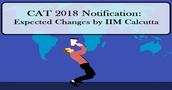 cat notification expected changes by iim calcutta