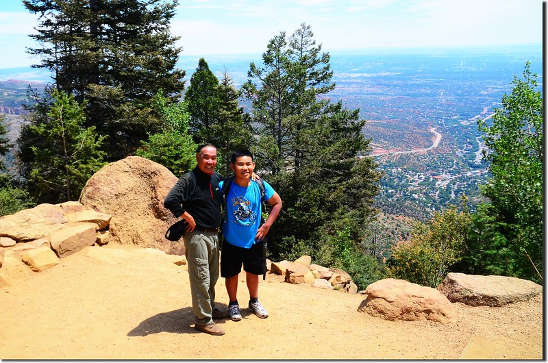 On the top of the incline (3)