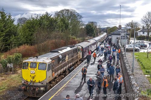 IE 086 RPSI 'Branchline Wanderer', Cloughjordan Station